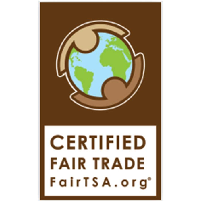 Certified Fairtrade Logo