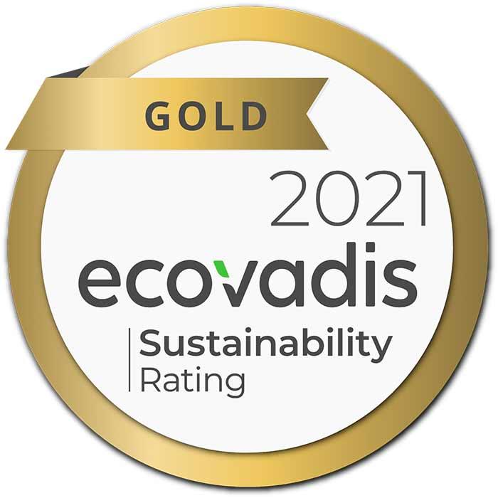 Ecovadis Gold Logo